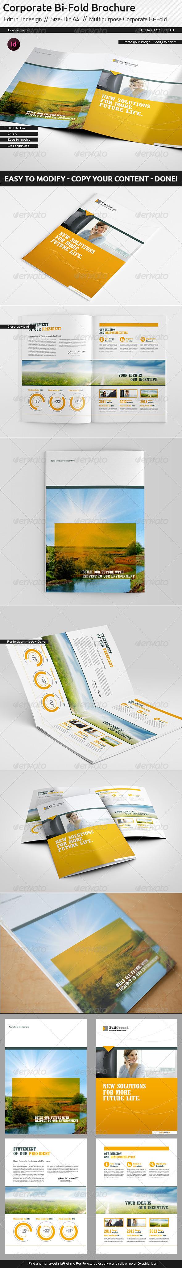 GraphicRiver Corporate Report Din A4 Bi-Fold 5551784