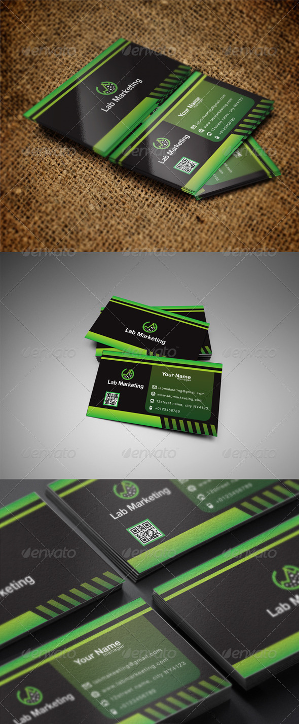 GraphicRiver Lab Business Card 5452601