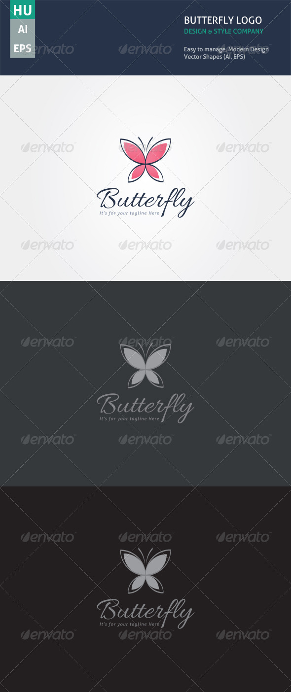 GraphicRiver Butterfly Style 5551789