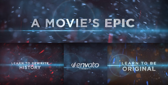 [VideoHive 571231] A Movie's Epic | After Effects Project
