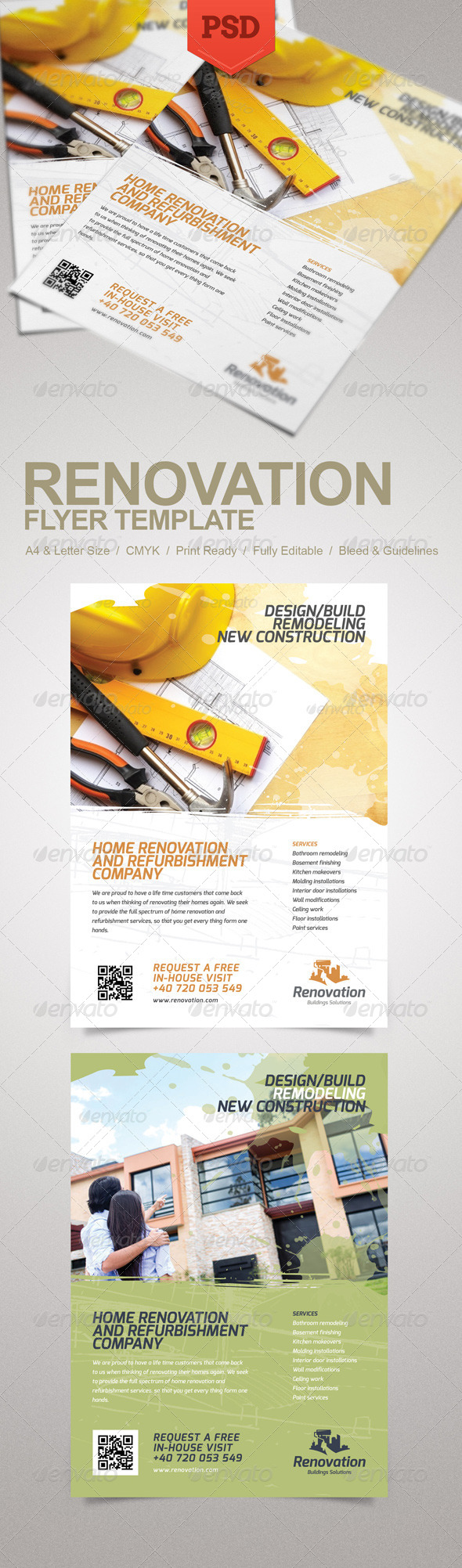 GraphicRiver Renovation Flyer 5551974