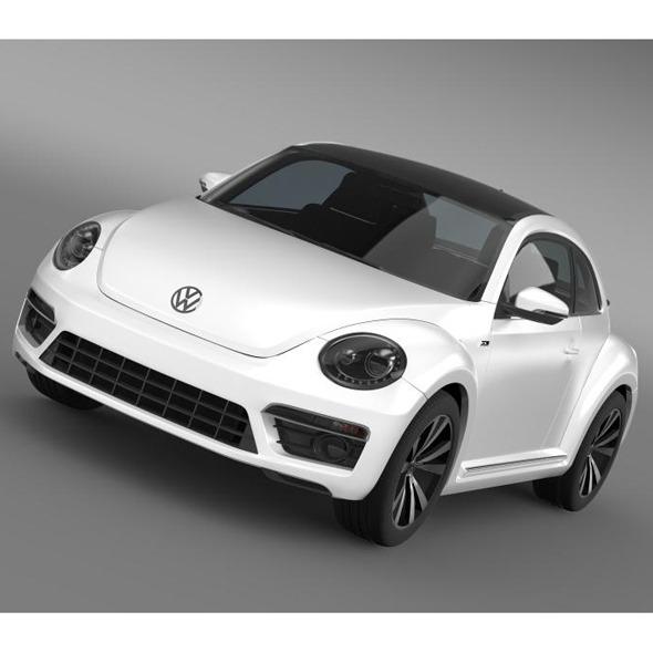 3DOcean VW Beetle RLine 2014 5552948