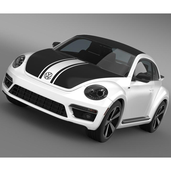 VW Beetle GSR 2013 - 3DOcean Item for Sale