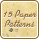 15 Paper Seamless Patterns - GraphicRiver Item for Sale