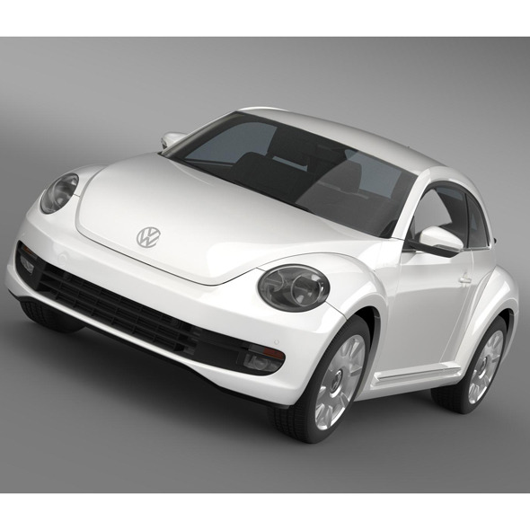 VW I Beetle 2015 - 3DOcean Item for Sale