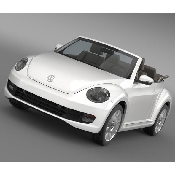 3DOcean VW I Beetle Cabrio 2015 5553046