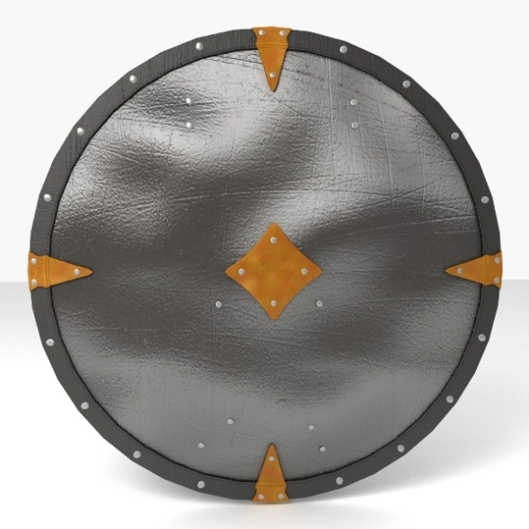 Round Shield - 3DOcean Item for Sale