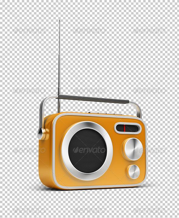 GraphicRiver Retro Radio 5553181