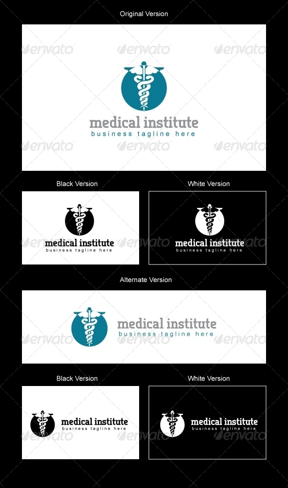 Medical Institute Logo Design