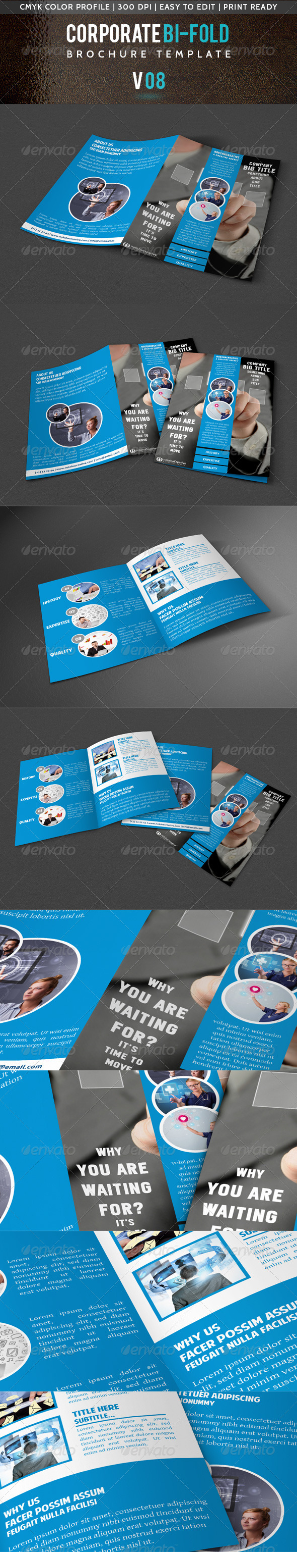 GraphicRiver Corporate Bi-Fold Brochure V 08 5532232