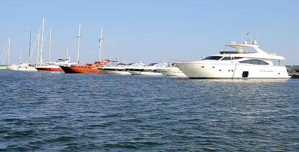 VideoHive Yacht Marina 5553710