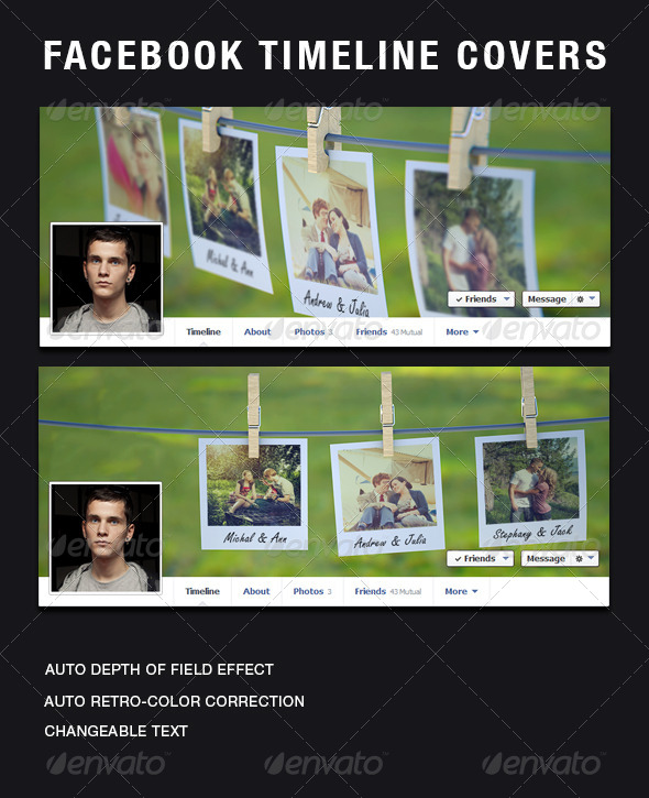 GraphicRiver Facebook Timeline Covers 5530236