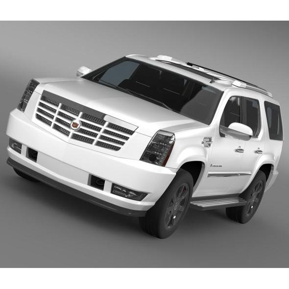 3DOcean Cadillac Escalade 5553858