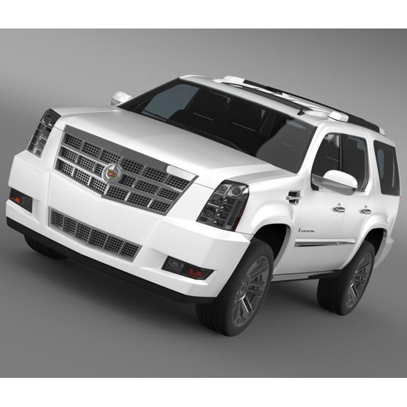 Cadillac Escalade 2011 Platinum  - 3DOcean Item for Sale