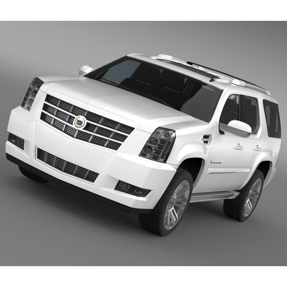 Cadillac Escalade 2013 - 3DOcean Item for Sale
