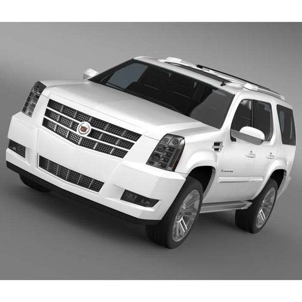3DOcean Cadillac Escalade 2013 5554154