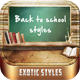 Back to School Styles - GraphicRiver Item for Sale