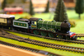 Model Railway Steam Pullman Passenger Train - PhotoDune Item for Sale