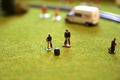 Model Railway Maintenance Men Drilling - PhotoDune Item for Sale