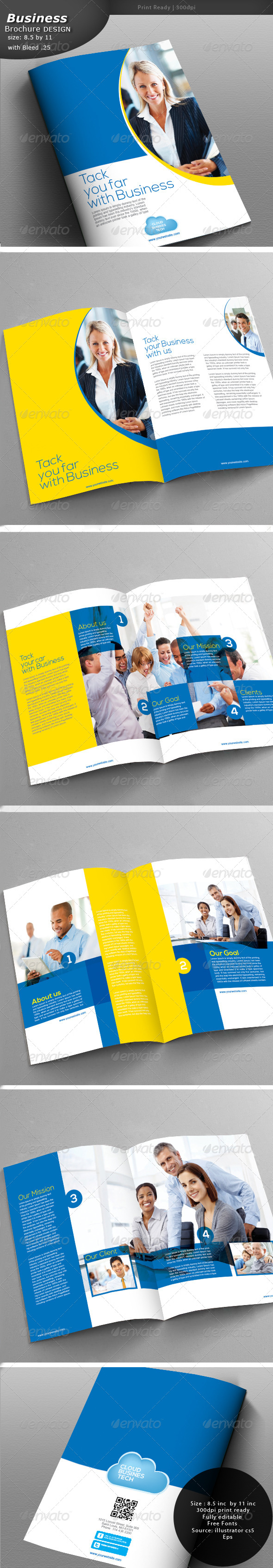GraphicRiver Business Brochure Design 5554420