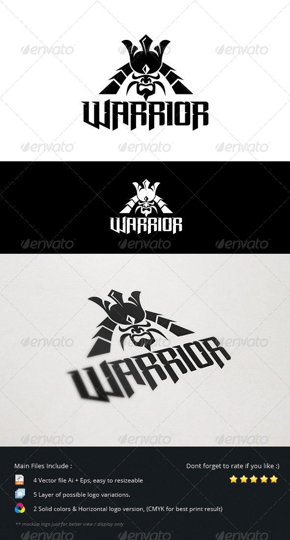 GraphicRiver Warrior Logo 5554436