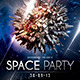Space Party Flyer Template - GraphicRiver Item for Sale