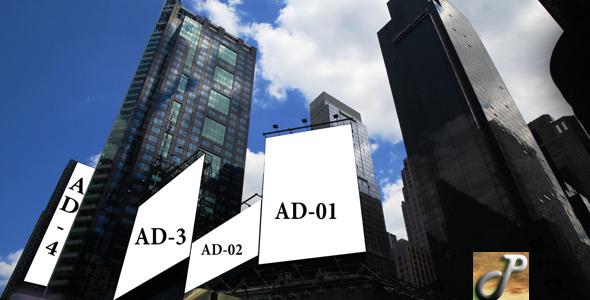 VideoHive Times Square Billboard 5507127
