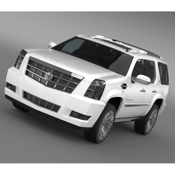 Cadillac Escalade 2013 Hybrid - 3DOcean Item for Sale