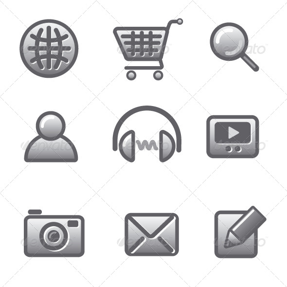 GraphicRiver Web Site Icons 5554989