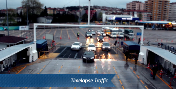 VideoHive Timelapse Traffic 5555785