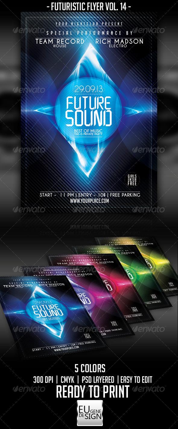 GraphicRiver Futuristic Flyer Vol 14 5556242