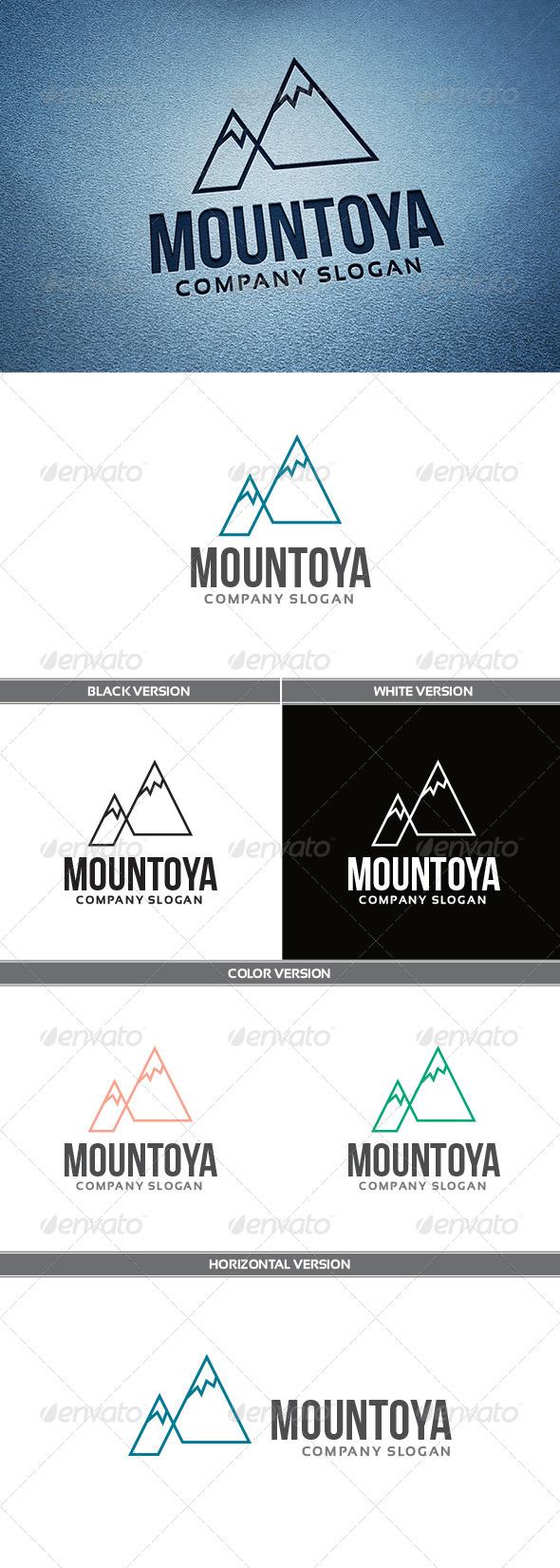 GraphicRiver Mountoya Logo 5556431