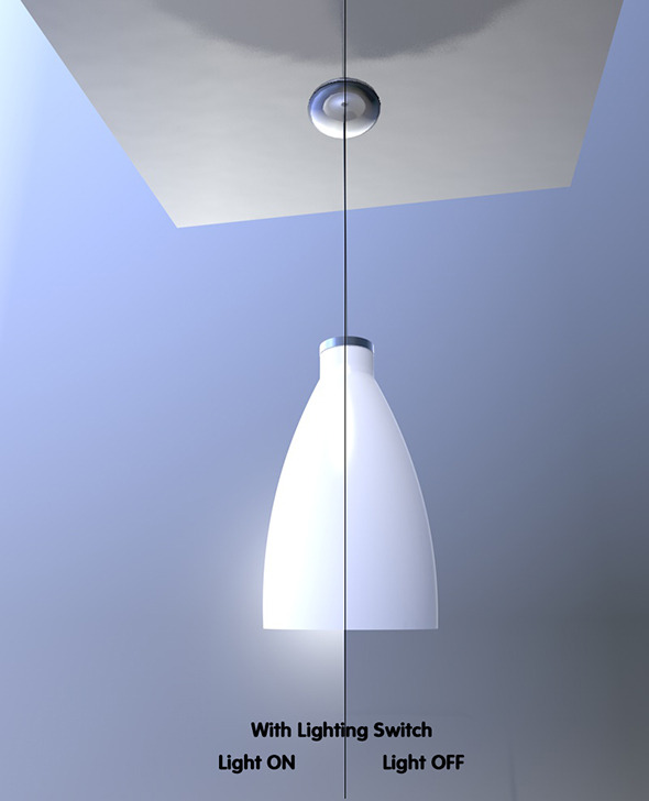 Tunnel light with Light Switch - 3DOcean Item for Sale
