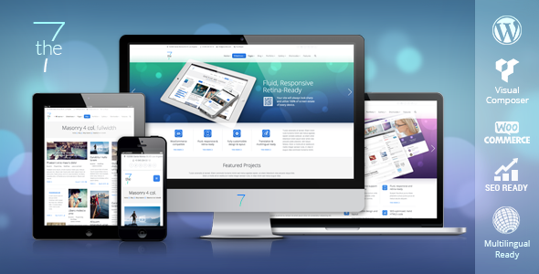 ThemeForest The7 Responsive Multi-Purpose WordPress Theme 5556590
