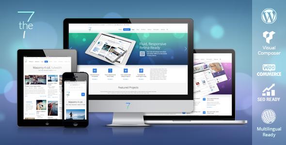 The7 v1.2.0 – ThemeForest Responsive Multi-Purpose WordPress Theme