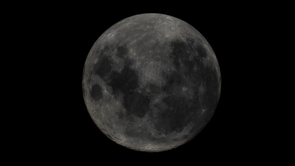 3DOcean Moon 5556782