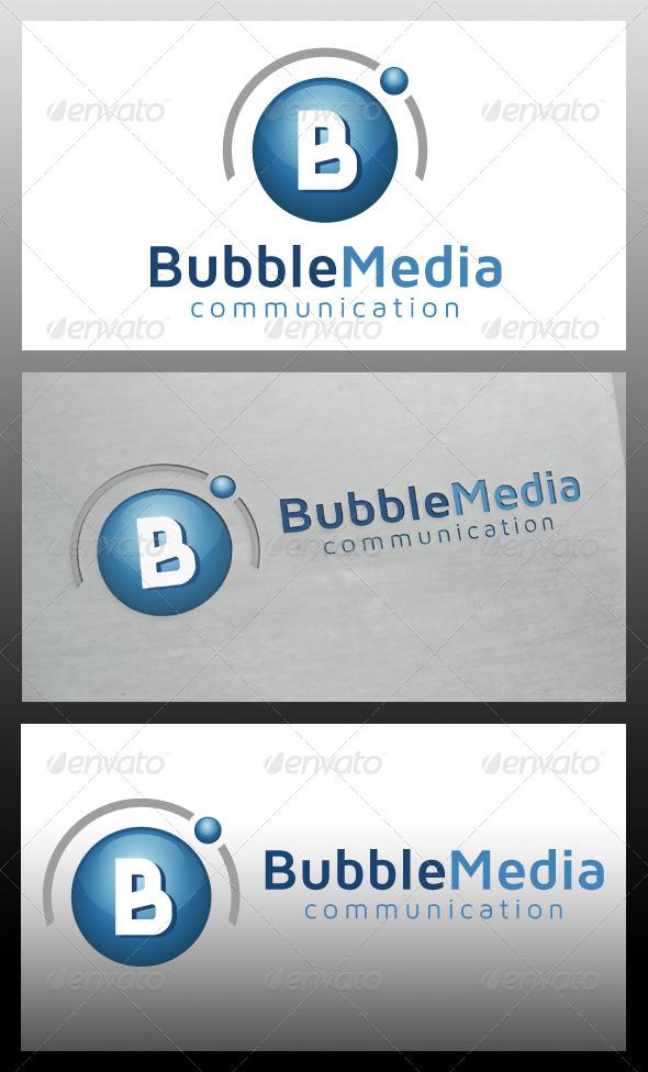 GraphicRiver Bubble Media Logo Template 5556829