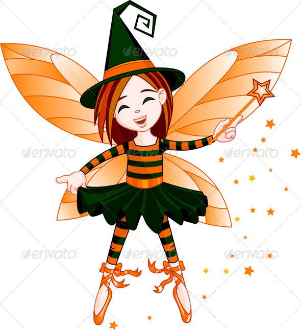 GraphicRiver Halloween Fairy 5557061
