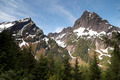 High Alpine Ridge North Cascade Range Mountain Outdoors - PhotoDune Item for Sale