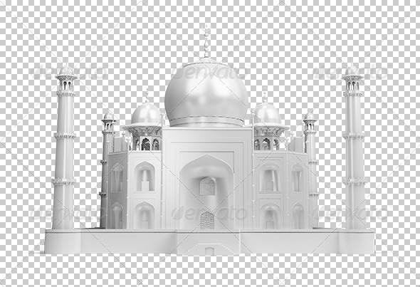 GraphicRiver Taj Mahal 5557400