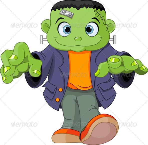 GraphicRiver Frankenstein Kid 5557662