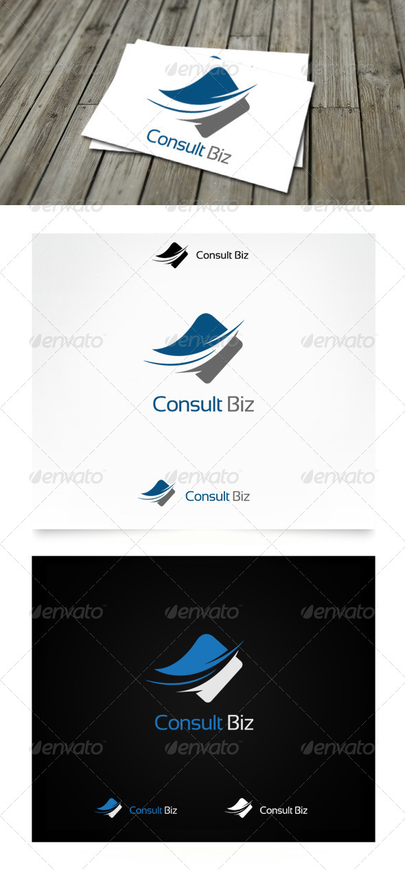 Consult Biz Logo - Symbols Logo Templates