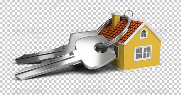 keys and house