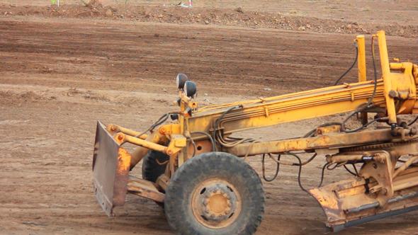 Excavator on the Road 2