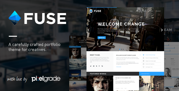 Fuse - Responsive Portfolio & Blog WordPress Theme