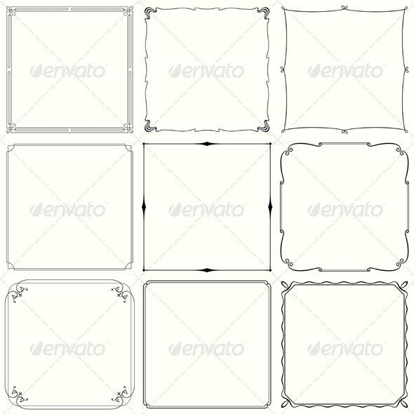 GraphicRiver Decorative Frames 5559220