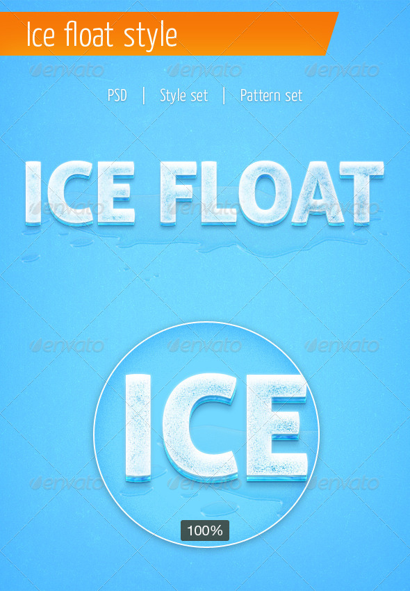 GraphicRiver Ice Text Style 5559546
