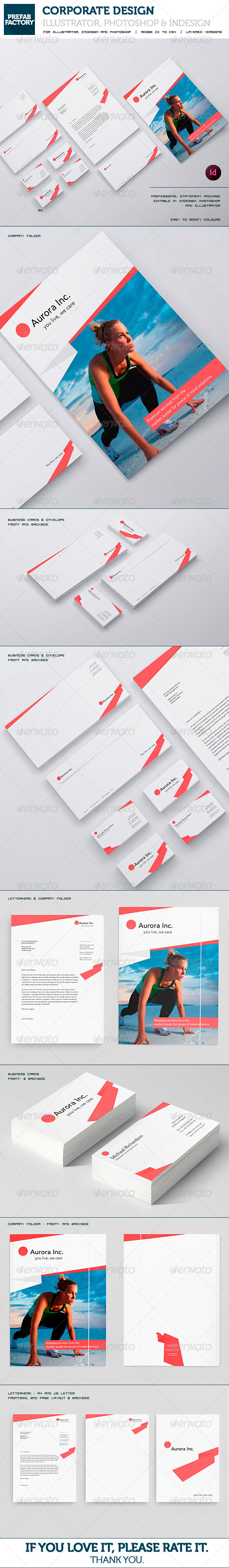 GraphicRiver Stationary and Corporate Identity Kit 5559852