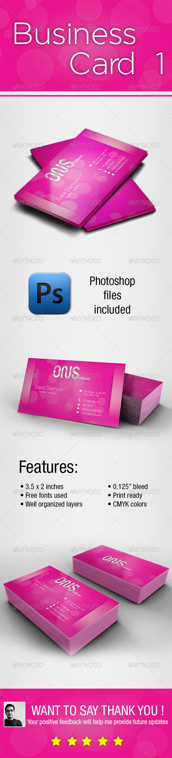 GraphicRiver Business Card 1 5559911