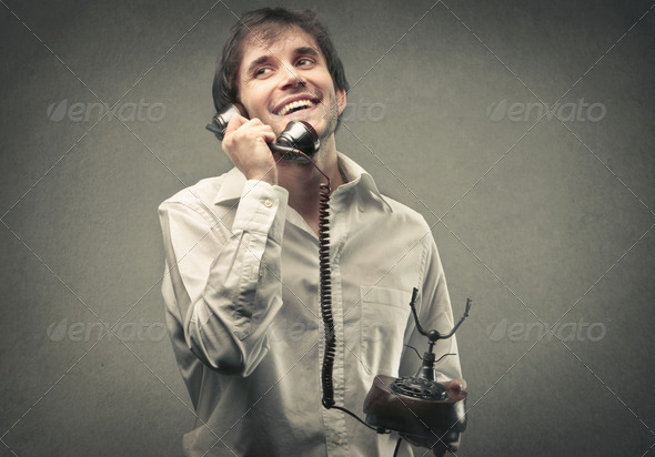 Happy Talk - Stock Photo - Images